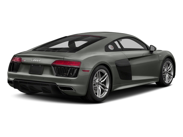 Daytona Gray Pearl Effect 2017 Audi R8 Coupe Pictures R8 Coupe V10 plus quattro AWD photos rear view