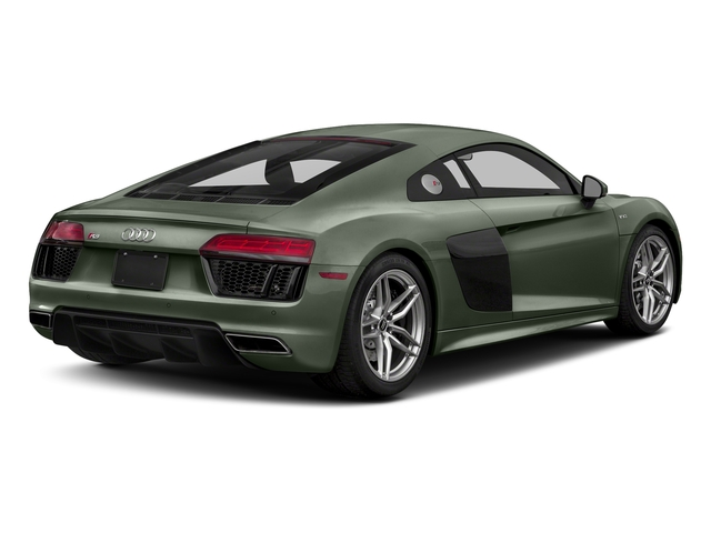 Camouflage Green Metallic 2017 Audi R8 Coupe Pictures R8 Coupe V10 plus quattro AWD photos rear view