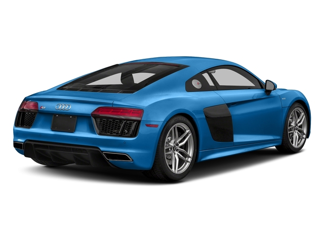 Ara Blue Crystal Effect 2017 Audi R8 Coupe Pictures R8 Coupe V10 plus quattro AWD photos rear view