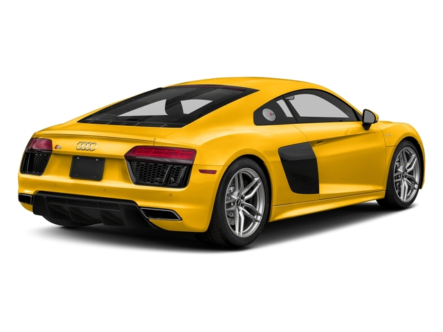 Vegas Yellow 2017 Audi R8 Coupe Pictures R8 Coupe V10 plus quattro AWD photos rear view