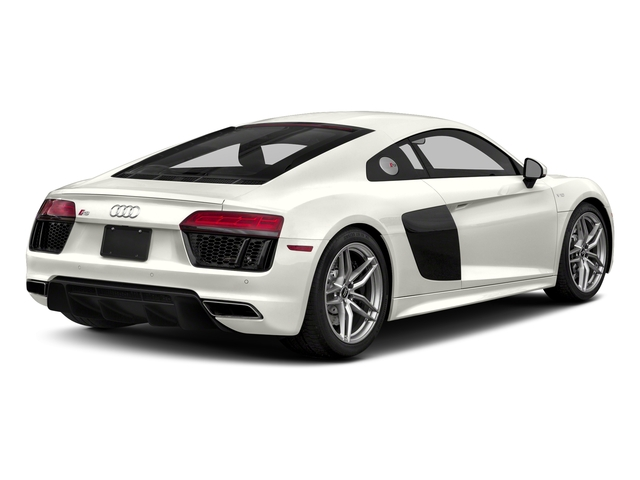 Ibis White 2017 Audi R8 Coupe Pictures R8 Coupe V10 plus quattro AWD photos rear view