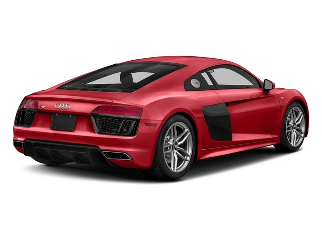Tango Red Metallic 2017 Audi R8 Coupe Pictures R8 Coupe V10 plus quattro AWD photos rear view