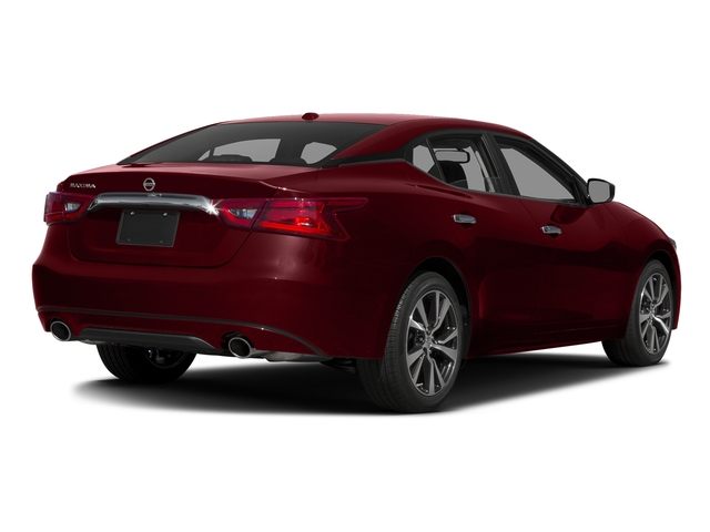 Coulis Red 2017 Nissan Maxima Pictures Maxima S 3.5L photos rear view